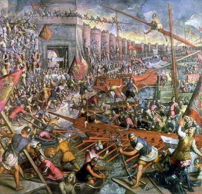 The Fall of Constantinople by the Turks in A.D. 1453